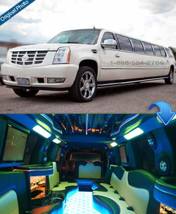 Cadillac Escalade - 20 Passengers