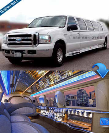 Ford Excursion - 15 Passengers