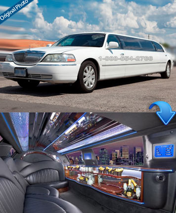 Lincoln Stretched Limo - 10 Passengers