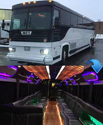 Party Bus - 40 Passengers