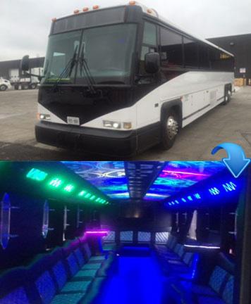 Party Bus - 50 Passengers