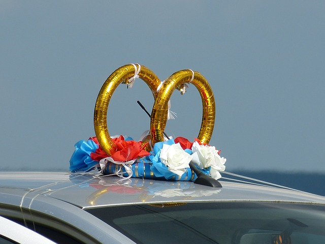 wedding limo decorations